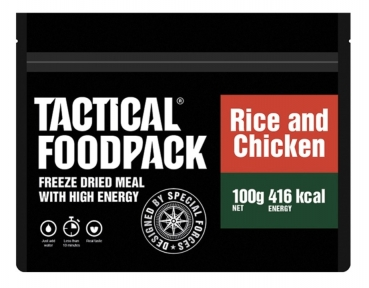 TACTICAL FOODPACK® RICE AND CHICKEN