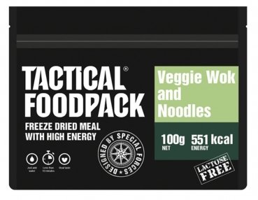 TACTICAL FOODPACK® VEGGIE WOK AND NOODLES