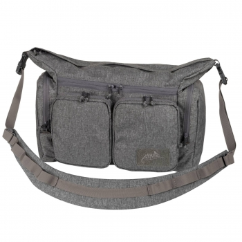 Helikon Tex WOMBAT Mk2® Shoulder Bag - Nylon - Melange Black-Grey