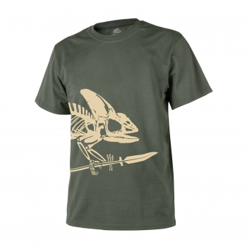 Helikon Tex T-Shirt Full Body Skeleton Oliv