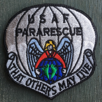 "USAF PARARESCUE ""THAT OTHERS MAY LIVE"" Velcro patch"