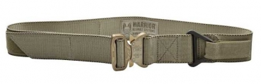 Warrior Rigger Belt mit Cobra Buckle Coyote