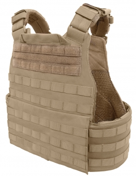 Warrior Assault System Quad Release Molle Plate Carrier Coyote