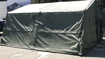 US Army Temper Frame Tent mit Winterkit OLIV