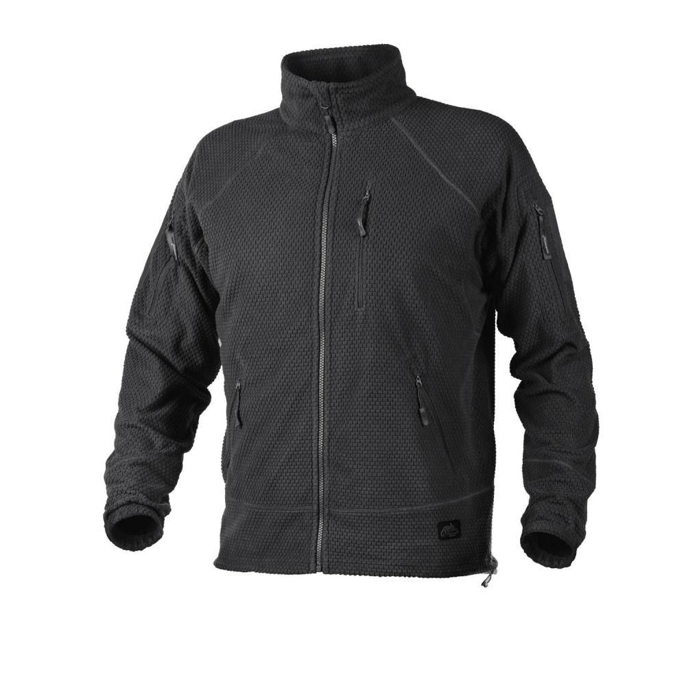 Helikon Tex ALPHA TACTICAL Jacket Grid Fleece Black