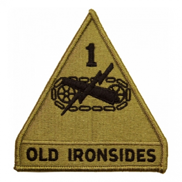 "1st Armored Division ""OLD IRONSIDES"" OCP Scorpion Patch"