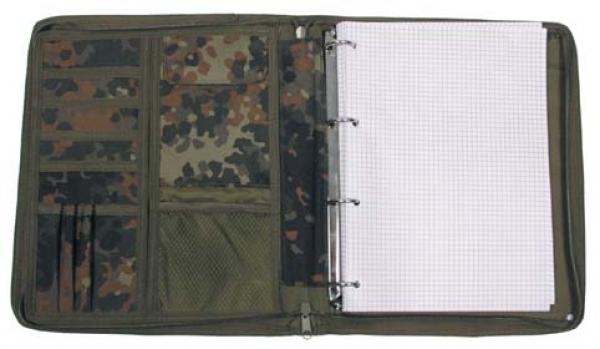 Mil-tec Bw Kommandeurs-mappe Din A4 Flecktarn Online Shop Taschen