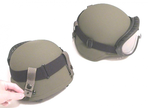 US Army MICH ACH PASGT HELMET GOGGLE RETENTION STRAPS Foliage Green f77aec15fb