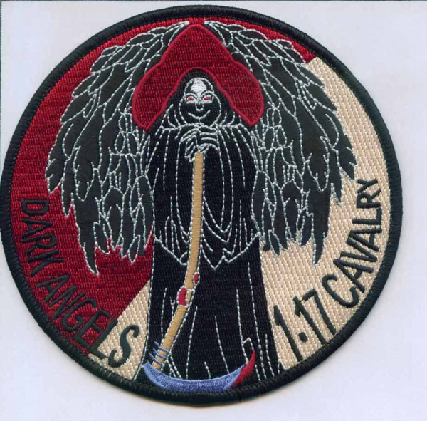 1st Squadron...1st Cavalry Patch Meaning