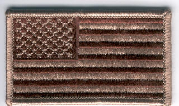 US Army Forward Desert tan flag USA Flagge Velcro patch