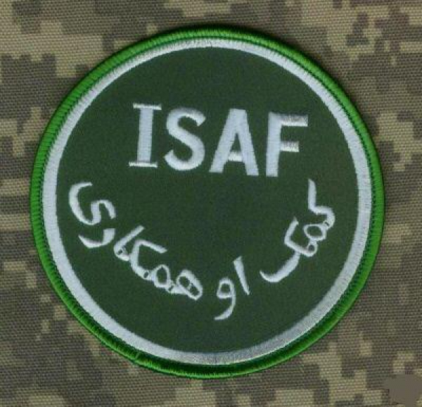 AFGHANISTAN NATO SECURITY ASSIISTANCE FORCE ISAF