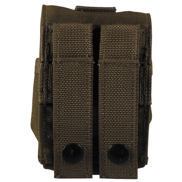 5 Stück US Army MOLLE Granatentasche coyote tan