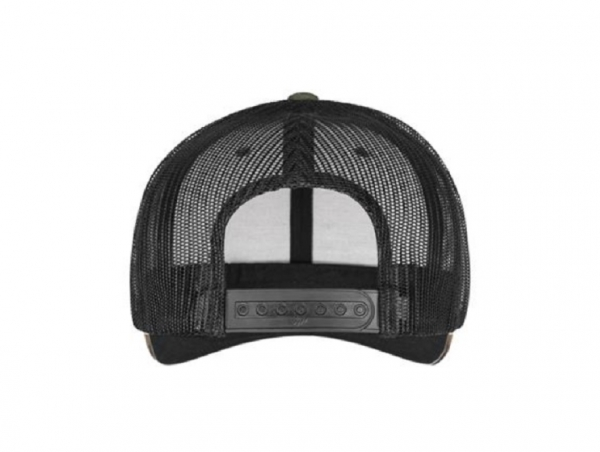 DIRECT ACTION Retro Trucker Cap - Woodland / Black