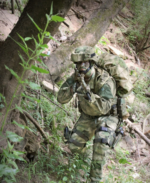 тактический костюм цвет A-TACS FG