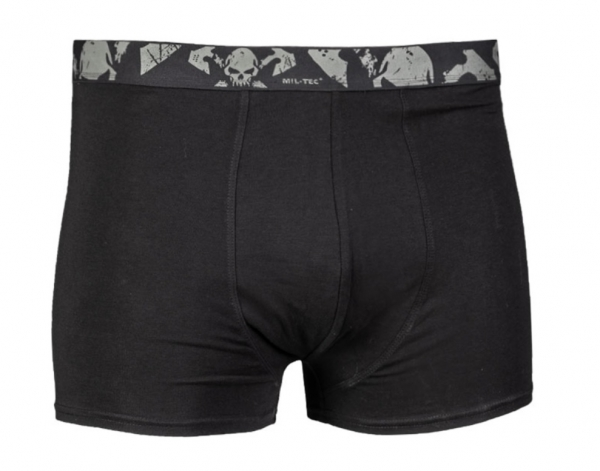 BOXER SHORTS ′SKULL′ (2ER PACK) BLACK