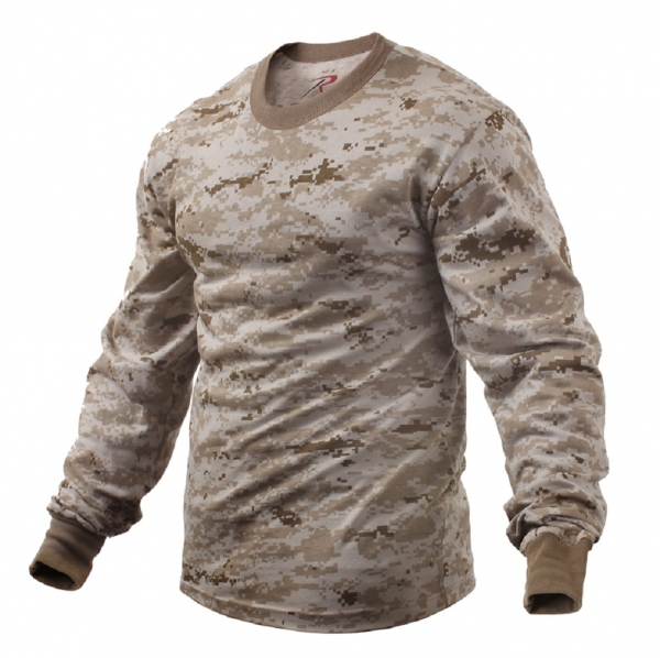 US Desert Digital Camouflage LONG SLEEVE SHIRT