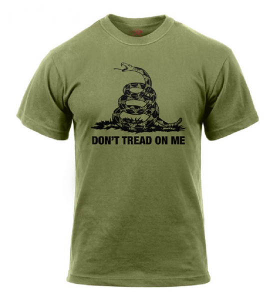 Don't Tread On Me Vintage shirt od green