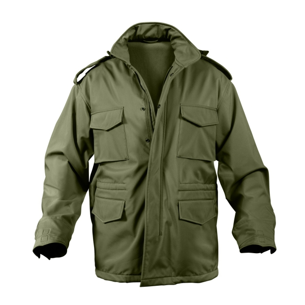 ROTHCO US M65 Soft Shell Tactical Field Jacket Oliv Drab