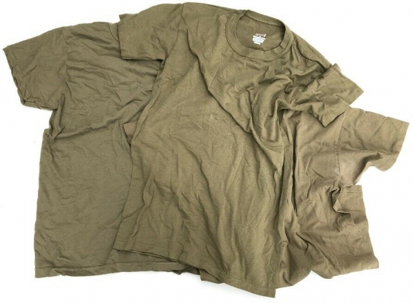 3x US Army Tan499 Scorpion AR670-1 Tshirt gebr.