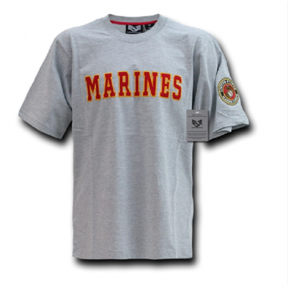 US MARINES Applique Military t-Shirt