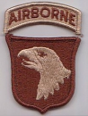 101st Airborne Division desert patch