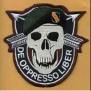US Army Special Forces Black OPPS patch