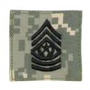 Command Sergeant Major Velcro Rank