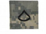 Private First Class US Army ACU Velcro Rank Digital Uniform Insignia Abzeichen