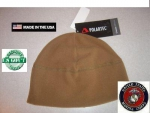 US Marine Corps USMC POLARTEC watch cap FLEECE Mütze coyote tan