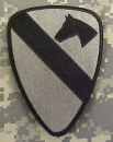 "1st Cavalry Division ""THE FIRST TEAM"" ACU patch"