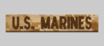 US Marines MARPAT Desert Digital Name tape Namensstreifen