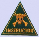 US ARMY CAMP HOOD TD DRILL INSTRUCTOR patch
