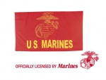 RED U.S. MARINE FLAG