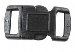 BLACK SIDE RELEASE BUCKLE 3/8