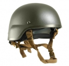 US Army 4 Point ACH MICH Helmet Chin Strap Coyote brown
