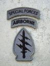 Special Forces Airborne ACU Velcro patch