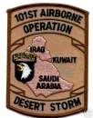 101st Airborne Division Desert Storm Patch