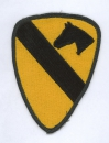 "1st Cavalry Division "" THE FIRST TEAM "" patch"