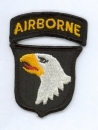 "101st Airborne Division "" Screaming Eagle "" patch"