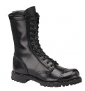 "Corcoran Mens 10"" Leather Side Zipper Field Boot with Lug Outsole"