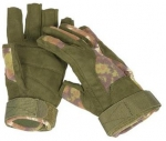Vegetato Special Operation Taktik Fingerlinge Handschuhe woodland