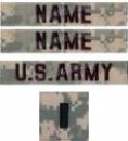 US Army ACU Abzeichen PACKAGE DEAL Set - 4 Stück