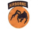 135th Airborne Division Ghost Uniform Abzeichen patch WWII