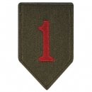 "1st Infantry Division ""BIG RED ONE"" patch"