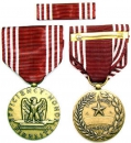 US Army Airforce Good Conduct Medal Uniform Orden