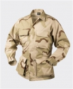 US 3 color DCU Desert BDU Jacke Cotton Ripstop