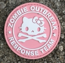 ZOMBIE OUTBREAK RESPONSE TEAM PVC Velcro patch